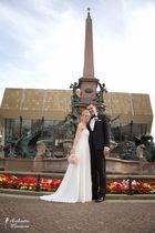 Brautpaarfotoshooting in der Leipziger Innenstadt