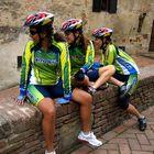 Brazilian Bikers in Italy