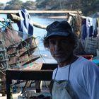 Brazilian Oyster worker