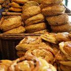 Breads in shop
