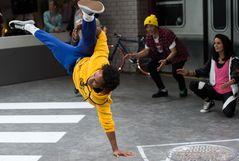 Breakdance auf der Photokina