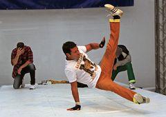 Breakdance vom Feinsten...