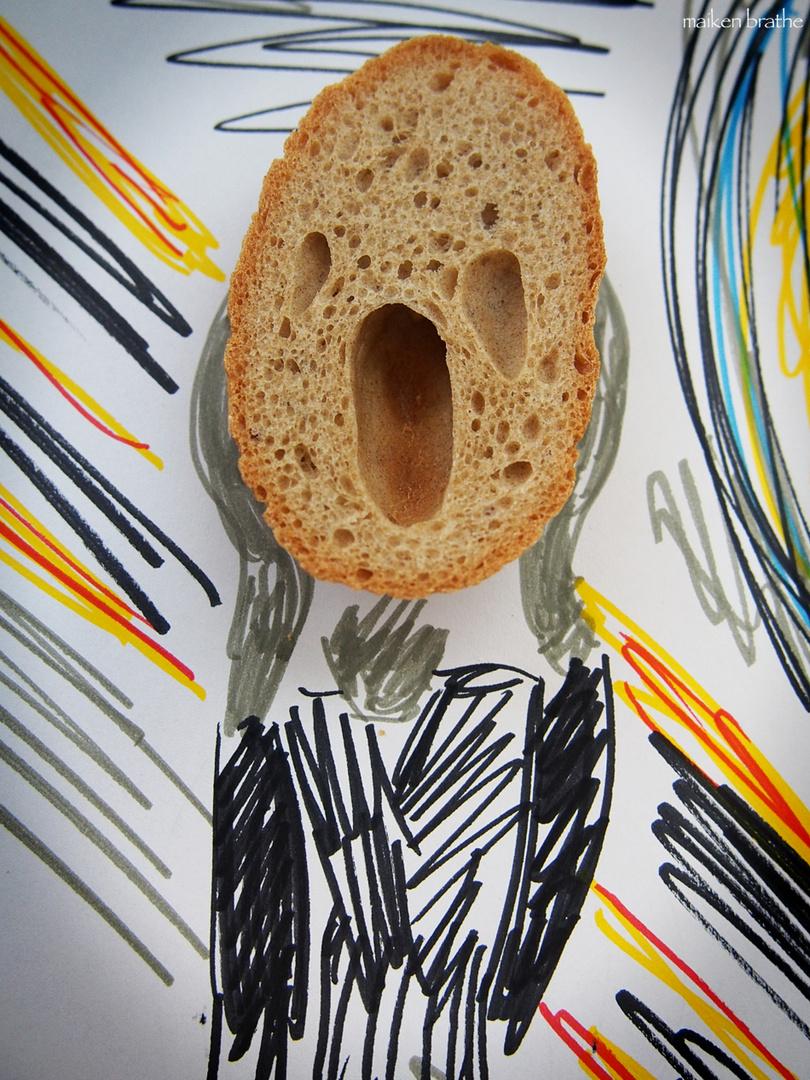 Breakfeast goes art: Edvard Munch beim Frühstück