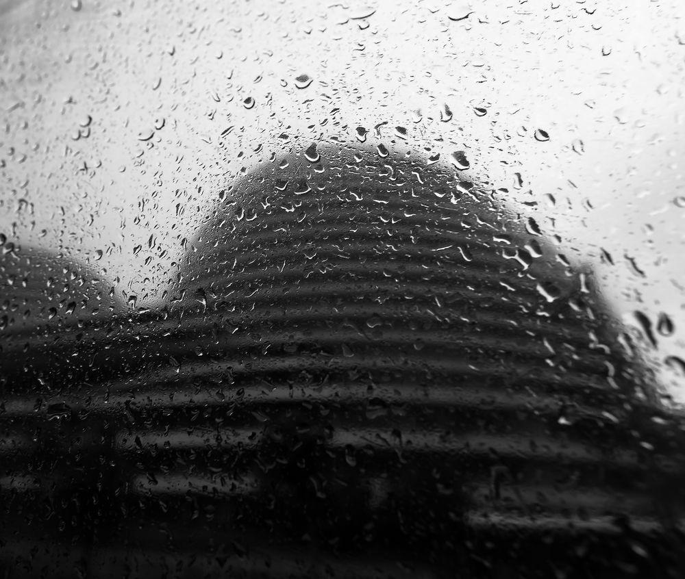 breast in rain