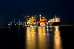 Bredo Werft @ Night