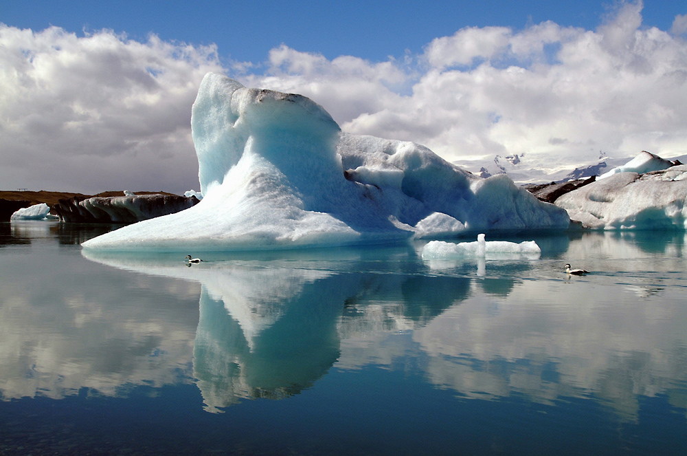 Breidamerkurjökull in Island