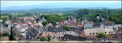 Breisach -Panoramaufnahme-