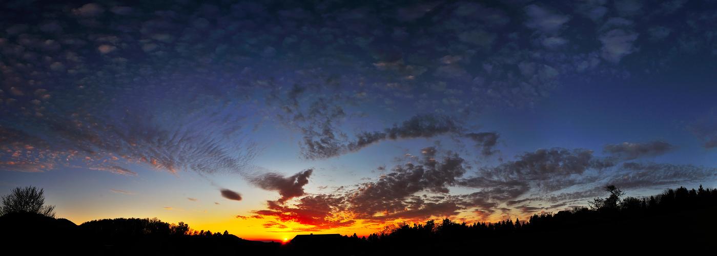 Breitenberg wide screen sunset II