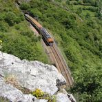 Breitspur RENFE zur Puerto de Pajares (Pass). 06