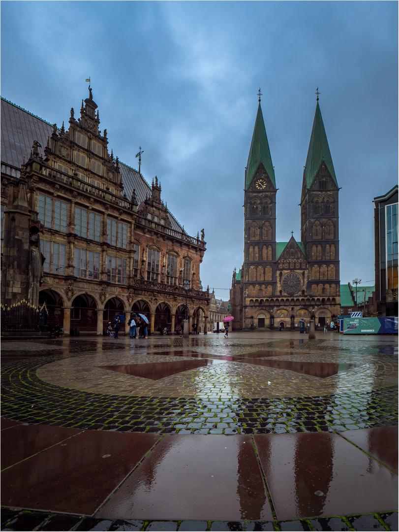 Bremen im Regen 3....