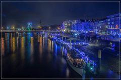 Bremen ist ganz schön blau