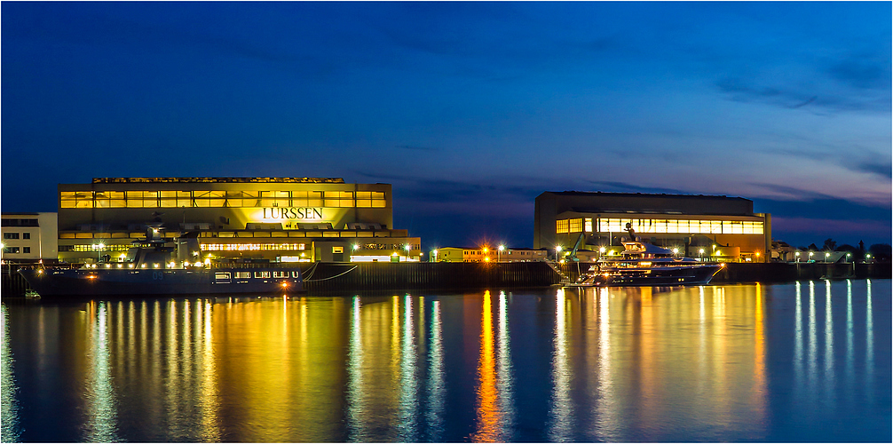 Bremen Vegesack - Lürssen Werft