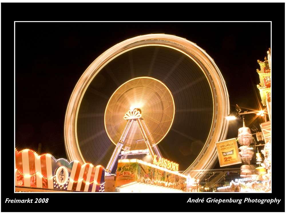 Bremer Freimarkt 2008 - Big Wheel