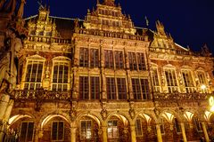 """Bremer Rathaus """" in Front"""""""