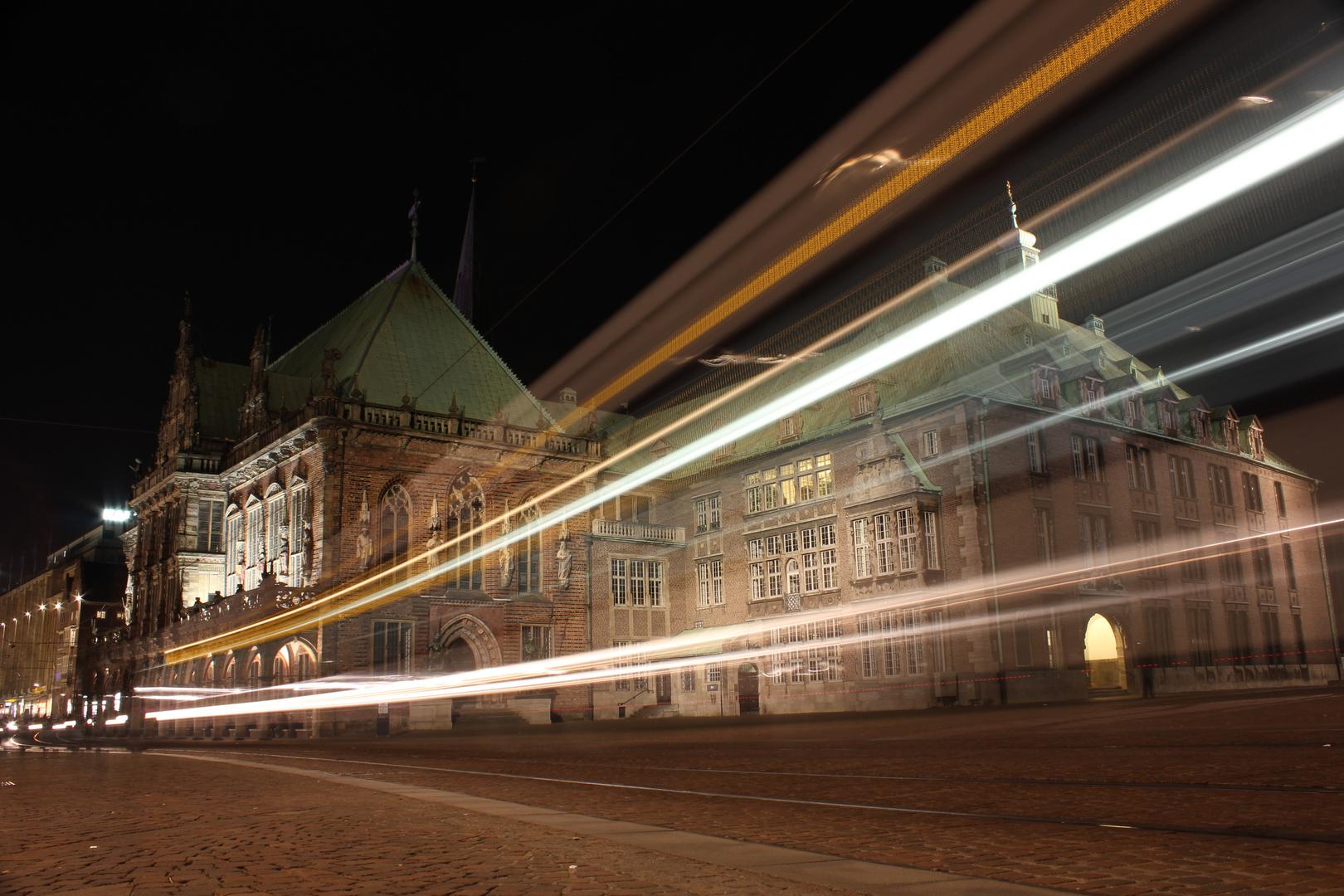 Bremer Rathaus mit Ziehern...