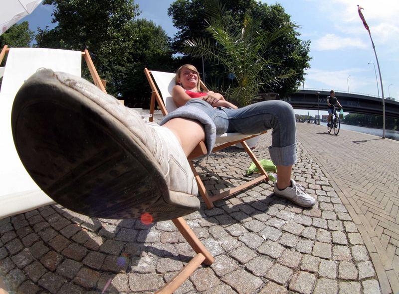 Bremer Usertreffen: eine gute Gelegenheit, mal auf großem Fuß zu leben