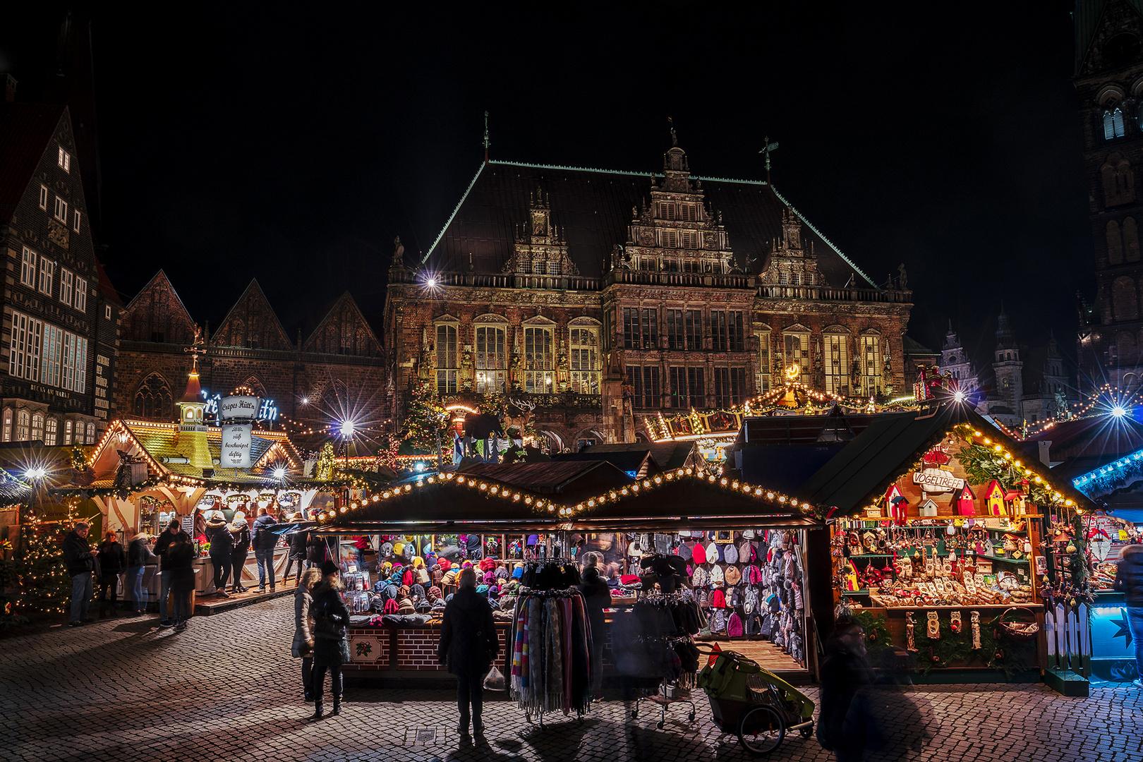 Bremen Weihnachtsmarkt.Bremer Weihnachtsmarkt 2018 Foto Bild Architektur Reportage