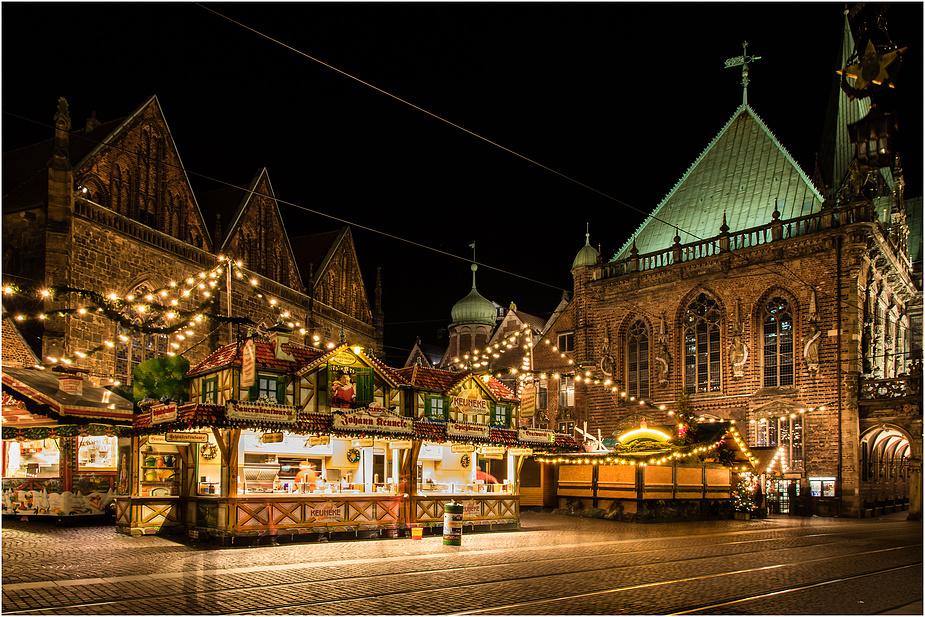 Bremen Weihnachtsmarkt.Bremer Weihnachtsmarkt Oder Der Geist Der Weihnacht Foto Bild
