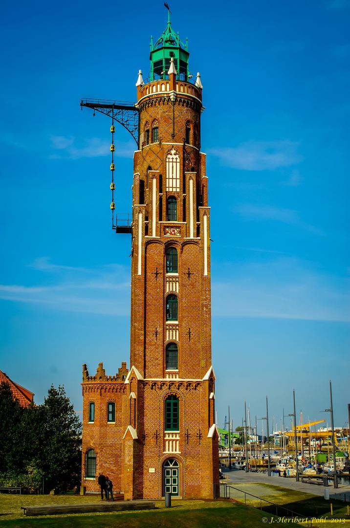 Bremerhaven, Alter Leuchtturm (Großer Leuchtturm oder Loschenturm)