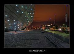 """Bremerhaven """" Hafenwelten bei Nacht****..."""""""