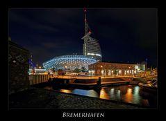 """Bremerhaven """" Hafenwelten bei Nacht***..."""""""