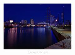 """Bremerhaven """" Hafenwelten bei Nacht*..."""""""