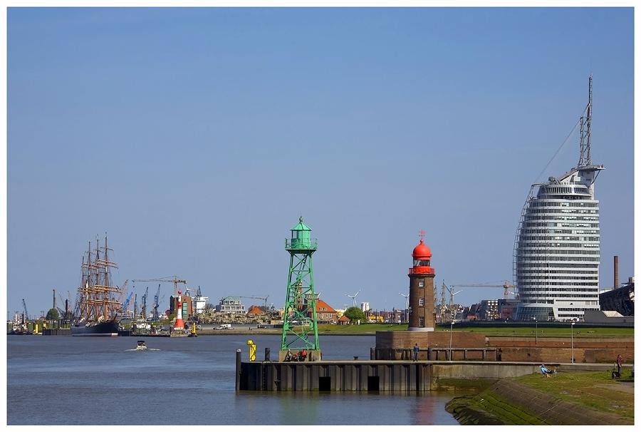 Bremerhaven Skyline, oder....
