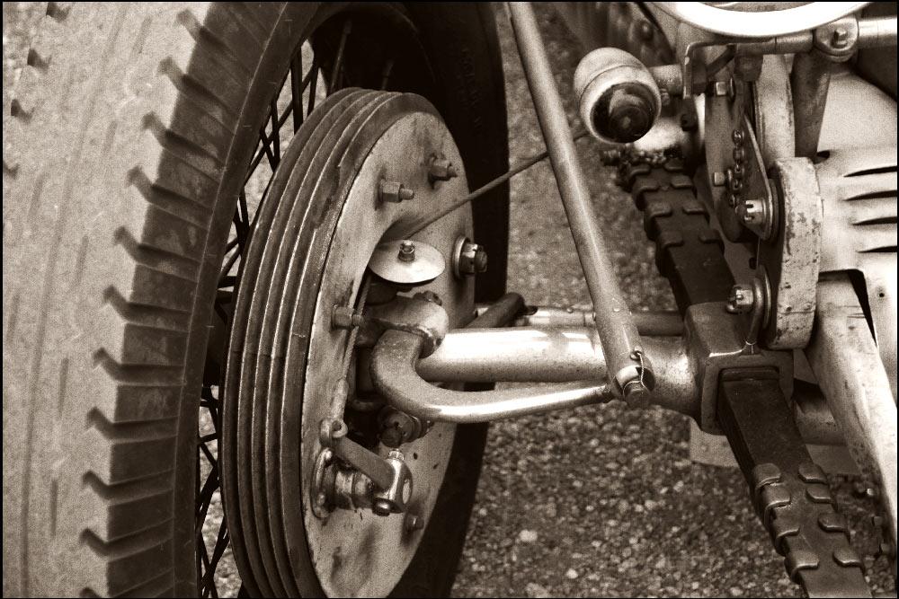 Bremsen eines Bugatti