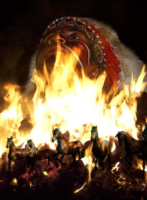 brennende Erde........