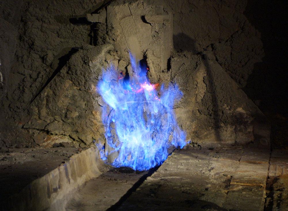 Brennende Kapelle