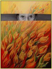 brennende tulpen