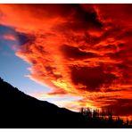 Brennender Himmel über Nevada (USA) - orig -