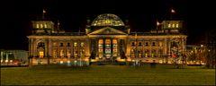 """""""Brennender"""" Reichstag"""