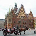 Breslau (Wroclaw), die diesjährige Kulturhauptstadt Europas
