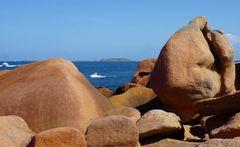 Bretagne - die rosa Granitküste