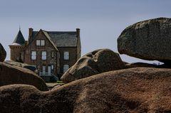Bretagne - Granit Rose... das Häuschen