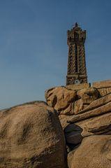 Bretagne - Granit Rose... der Leuchtturm
