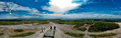 Bretagne - höchster Punkt - Höhenzug Ménez Hom