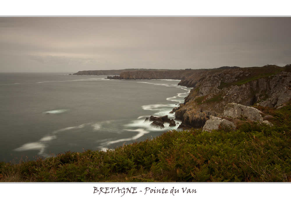 Bretagne - Vue depuis la pointe du Van