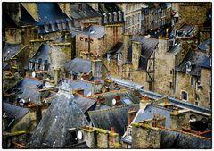 Bretonische Dachlandschaft