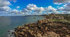 Bretonische Küstenlandschaft