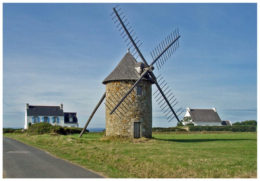 bretonische Windmühle