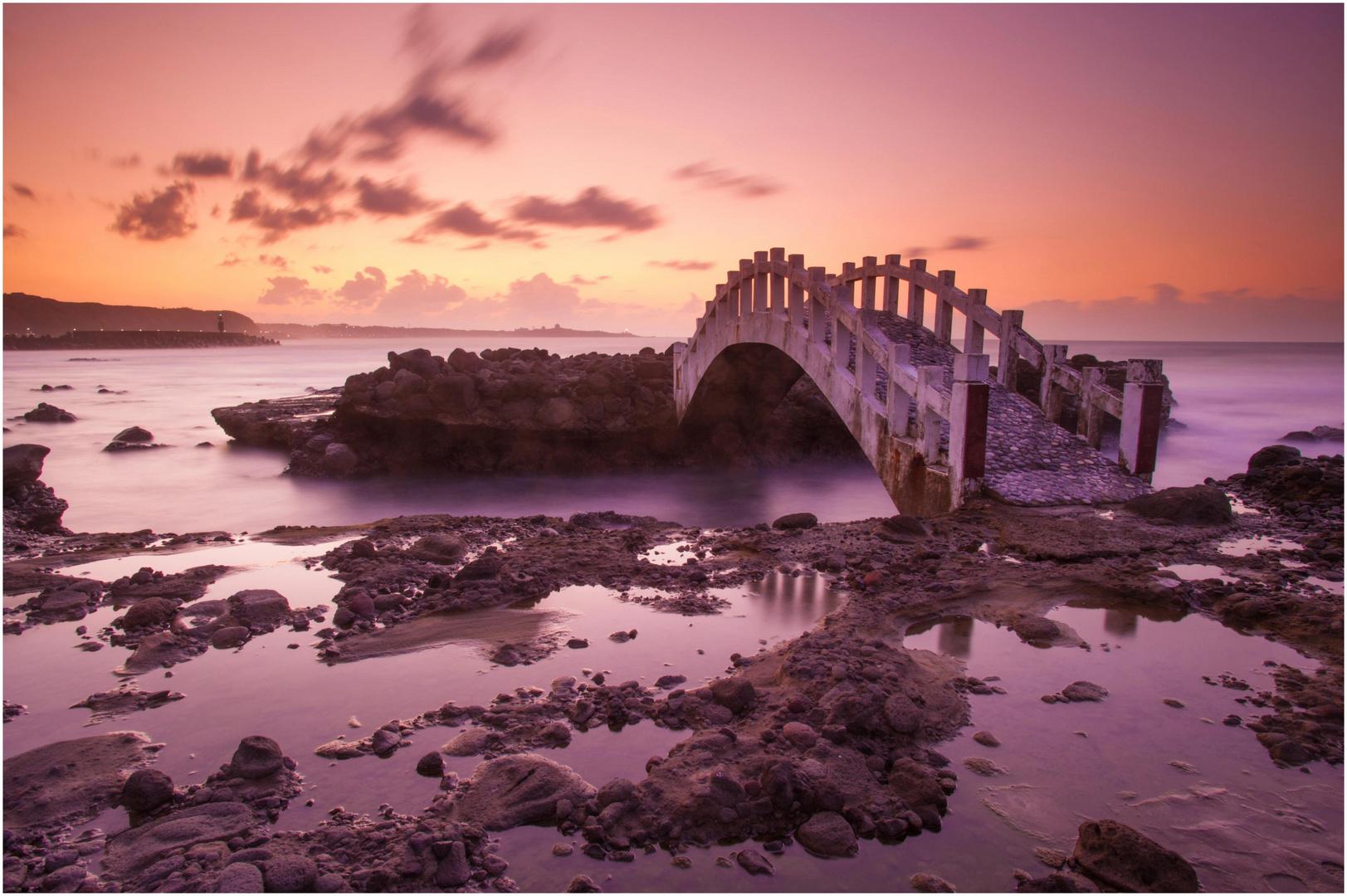 Bridge at Shimen Northcoast Taiwan