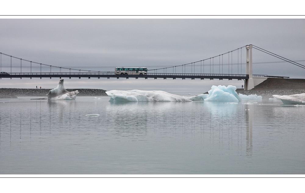 Bridge over cool water
