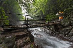 Bridge to the Gitgit Waterfall