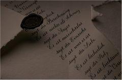 Brief und Siegel