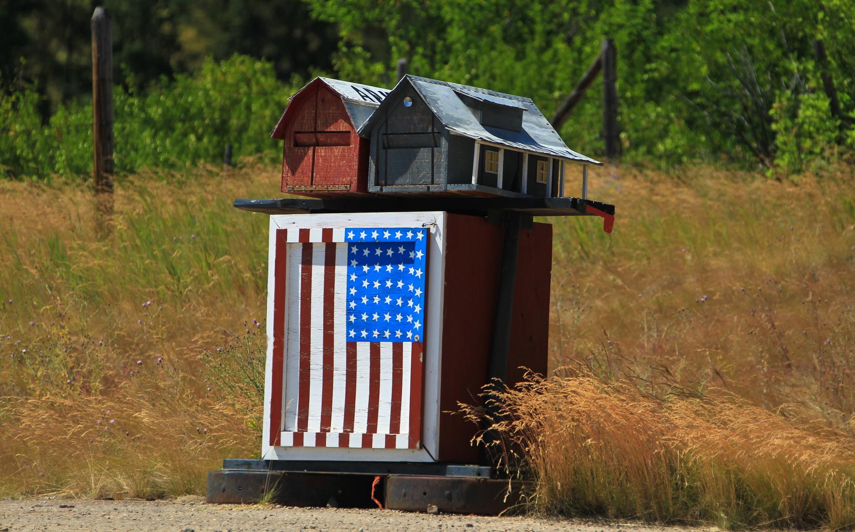 Briefkasten auf dem Lande