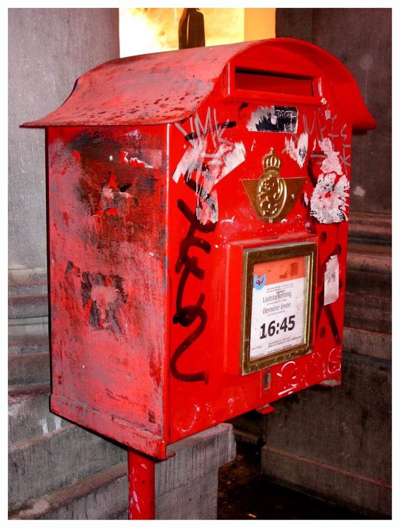 Briefkasten in Brüssel