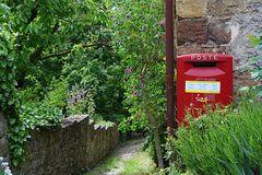 briefkasten in der Toscana