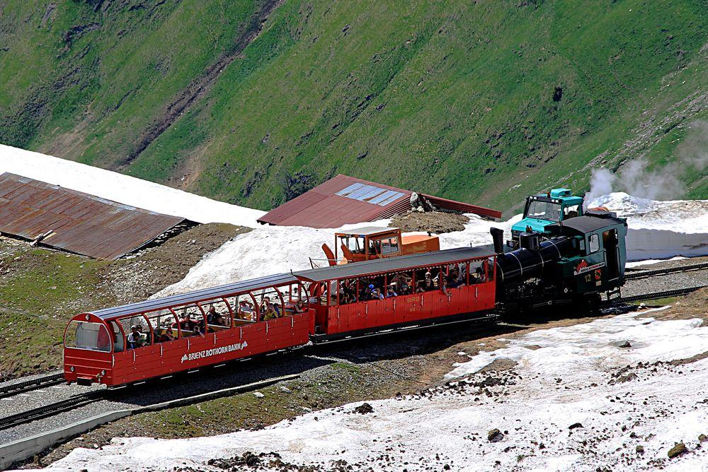 Brienzer Rothorn - Dampfbahn unterwegs